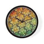Celtic Leaf Tesselation Wall Clock