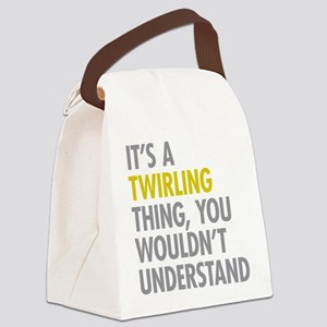 Its A Twirling Thing Canvas Lunch Bag