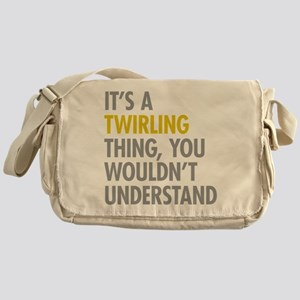 Its A Twirling Thing Messenger Bag