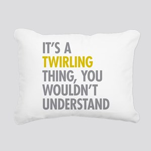 Its A Twirling Thing Rectangular Canvas Pillow
