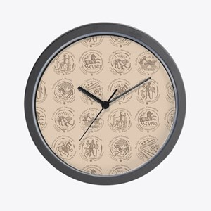 Celtic Coins Wall Clock