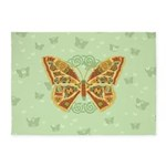 Celtic Butterfly 5'x7'Area Rug