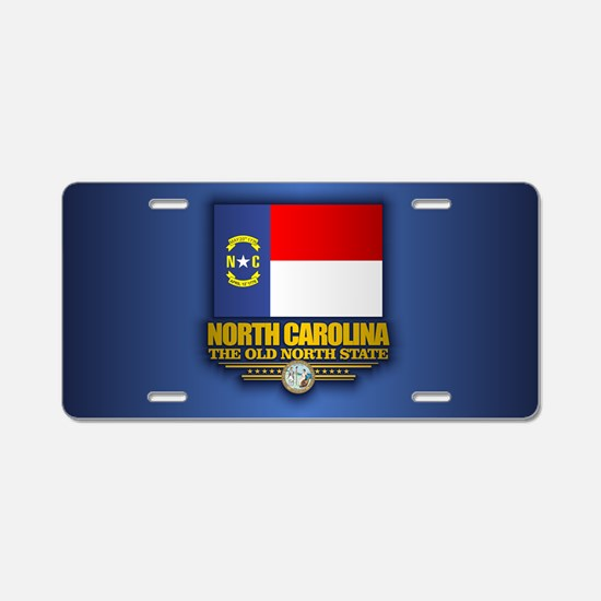 North Carolina (v15) Aluminum License Plate
