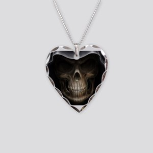 grimreaper Necklace Heart Charm
