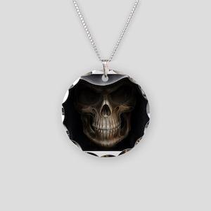 grimreaper Necklace Circle Charm