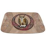Celtic Owl Bathmat