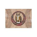 Celtic Owl 5'x7'Area Rug