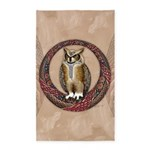 Celtic Owl 3'x5' Area Rug