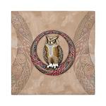 Celtic Owl Queen Duvet