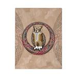 Celtic Owl Twin Duvet