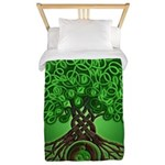 Circle Celtic Tree of Life Twin Duvet