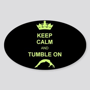 Keep Calm and Tumble on Sticker