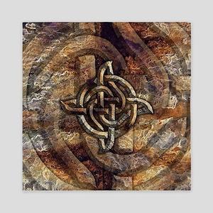 Celtic Rock Knot Queen Duvet