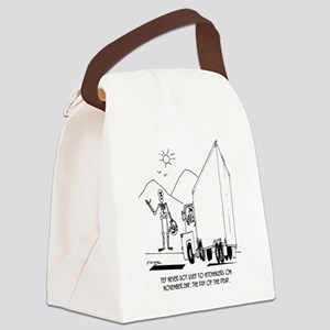 Day of the Dead Cartoon 7392 Canvas Lunch Bag