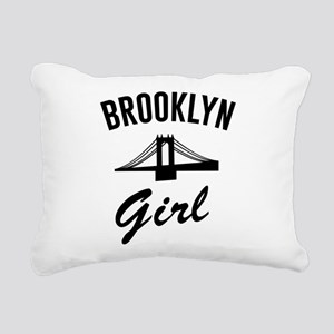 Brooklyn girl Rectangular Canvas Pillow