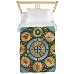 Celtic Wheel of the Year Twin Duvet