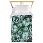 Celtic Stormy Sea Mandala Twin Duvet