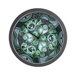 Celtic Stormy Sea Mandala Wall Clock