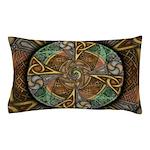 Celtic Aperture Mandala Pillow Case