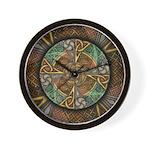 Celtic Aperture Mandala Wall Clock
