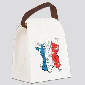 everything France Canvas Lunch Bag