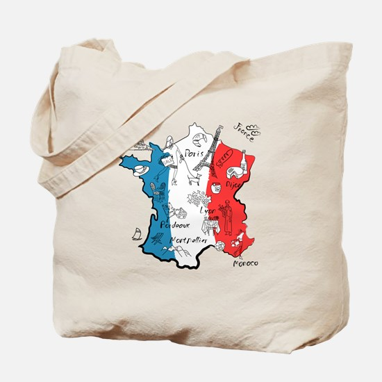 everything France Tote Bag
