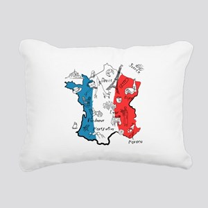 everything France Rectangular Canvas Pillow