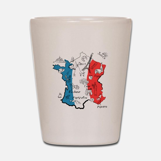 everything France Shot Glass