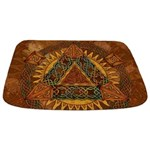 Celtic Pyramid Mandala Bathmat