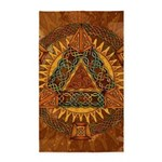 Celtic Pyramid Mandala 3'x5' Area Rug