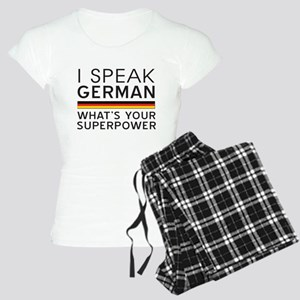 I speak German what's your superpower Pajamas