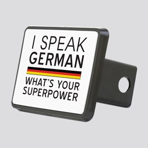 I speak German what's your superpower Hitch Cover