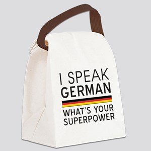 I speak German what's your superpower Canvas Lunch