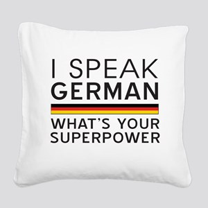 I speak German what's your superpower Square Canva