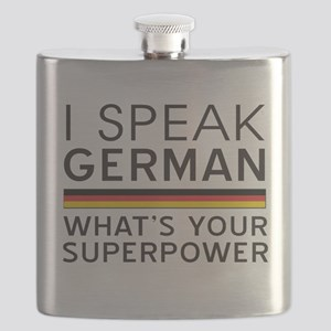 I speak German what's your superpower Flask