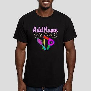 AMAZING STYLIST Men's Fitted T-Shirt (dark)
