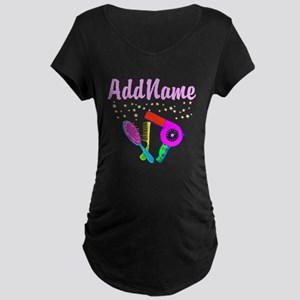 AMAZING STYLIST Maternity Dark T-Shirt
