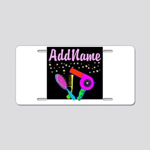 AMAZING STYLIST Aluminum License Plate