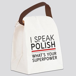 I speak Polish what's your superpower Canvas Lunch