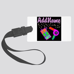 HOT HAIR STYLIST Large Luggage Tag