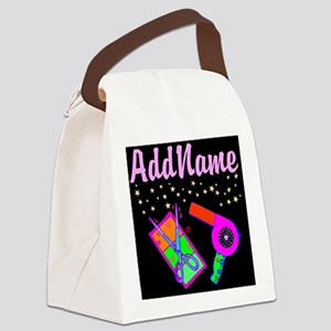 HOT HAIR STYLIST Canvas Lunch Bag