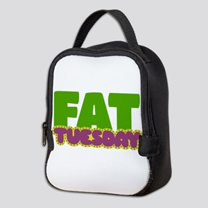 Fat Tuesday Neoprene Lunch Bag