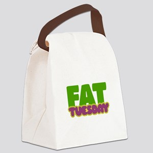 Fat Tuesday Canvas Lunch Bag