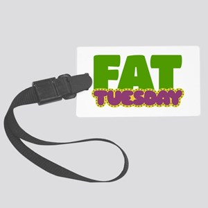 Fat Tuesday Luggage Tag