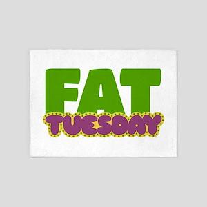 Fat Tuesday 5'x7'Area Rug
