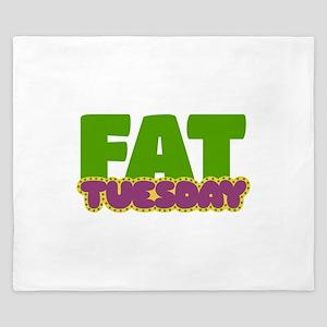 Fat Tuesday King Duvet