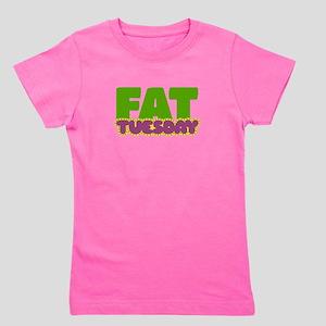Fat Tuesday Girl's Tee
