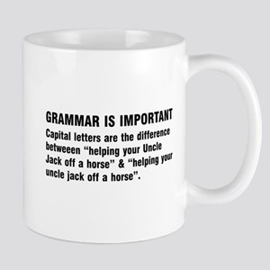 Grammar is important Mugs