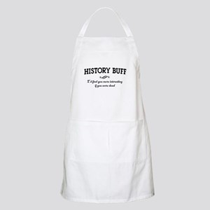 History buff interesting Apron
