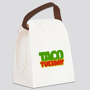 Taco Tuesday Canvas Lunch Bag